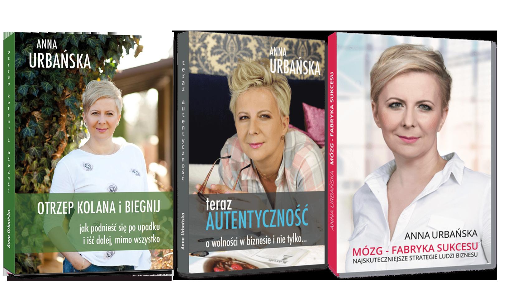 Anna Urbańska - Okładki książek - zdjęcie